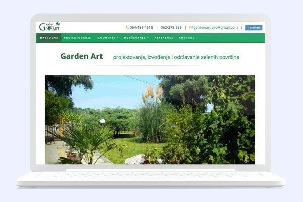 Projekat garden art