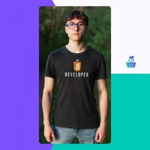 Muška majica Javascript