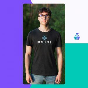 Muška majica React