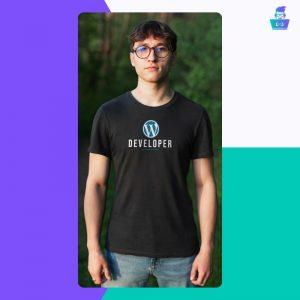 Muška majica WordPress
