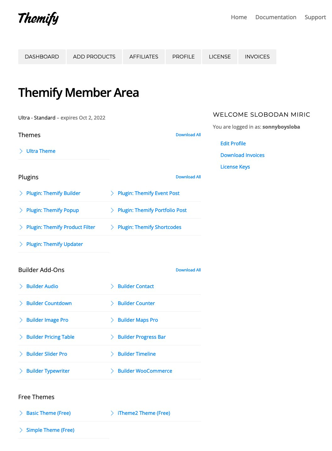 Screenshot 2021-10-03 at 11-42-50 Themify Member Area